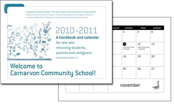 Calendar for Elementary School